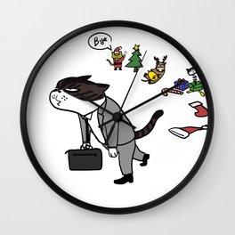 good bye Xmas Wall Clock