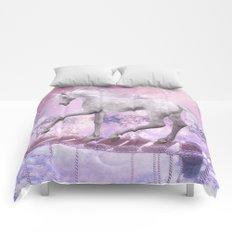 pink unicorn Comforters
