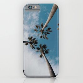 Palm Trees and Sunshine iPhone Case
