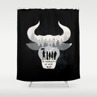 coven Shower Curtains featuring Coven by Edwoody