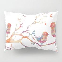Perched Tweetybirds Pillow Sham