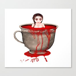 Cup of Blood Canvas Print