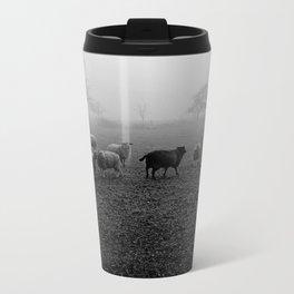 The black sheep Metal Travel Mug