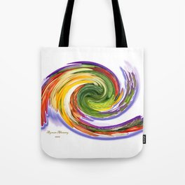 The whirl of life, W1.9A Tote Bag