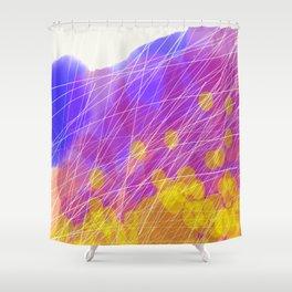 Mayflies Shower Curtain