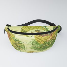 Chartreuse Chinoiserie Fanny Pack