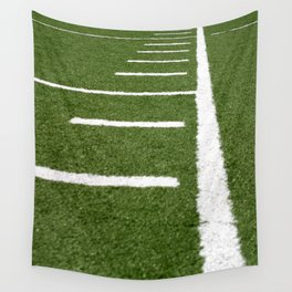 Football Lines Wall Tapestry