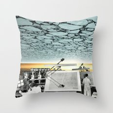 atmosphere 39 · Scientist Throw Pillow