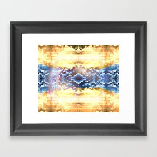 Sahara's Ghost Framed Art Print