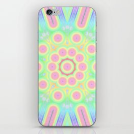 flower candy power iPhone Skin