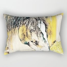 Impressive Animal - Horse Rectangular Pillow