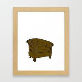 dandy chesterfield Framed Art Print