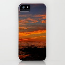 First Sunset of Summer iPhone Case