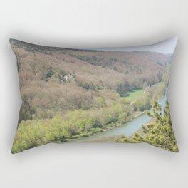 Die Donau 1 Rectangular Pillow