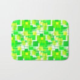 Mid-Century Modern - Green Bath Mat