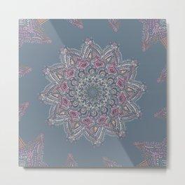 Dawn Mandala Metal Print