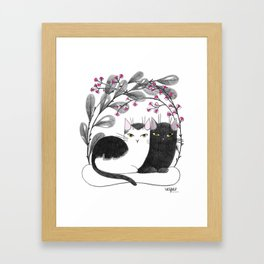 Pretty Kitties Framed Art Print