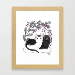 Pretty Kitties Framed Art Print