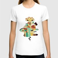 bar T-shirts featuring bar by Alevan
