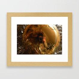 Selfieball Framed Art Print