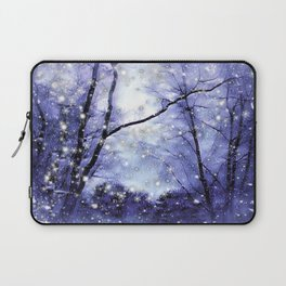 The Magic Of Winter Evening Laptop Sleeve