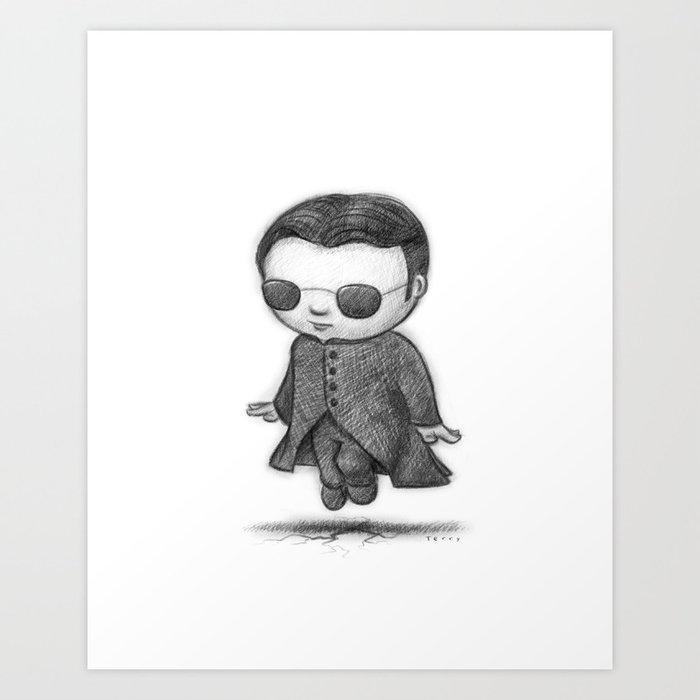 Lil Neo Art Print