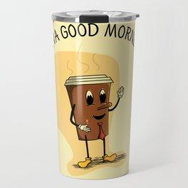 Java Good Morning - Coffee (Earth 1084) Travel Mug