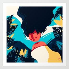 Women Dreaming Art Print
