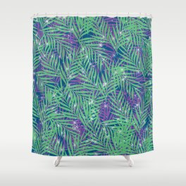 Tropical Stars Shower Curtain