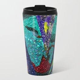 Peacock Mermaid Battlestar Galactica Abstract Travel Mug