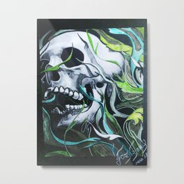 CRÁNEOS 10 Metal Print
