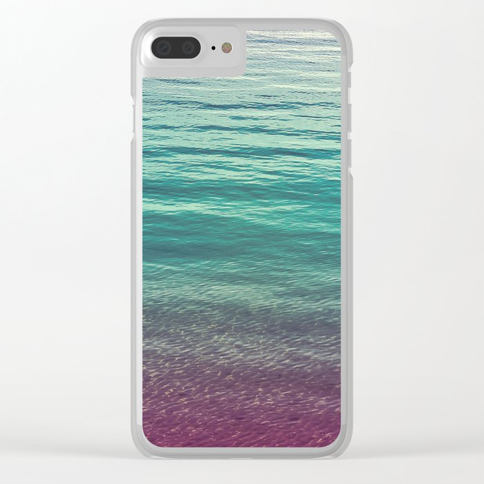 Sangria Clear iPhone Case