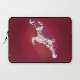 In Search Of Peace - (Maroon) Laptop Sleeve