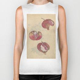 Pomegranates Biker Tank