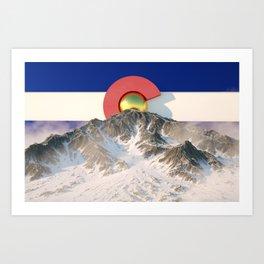 COLORADO RISING Art Print