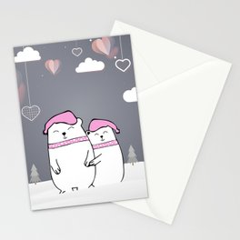 Valentine Celebration Stationery Cards