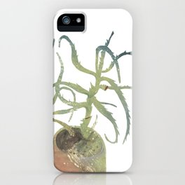 the aloe iPhone Case