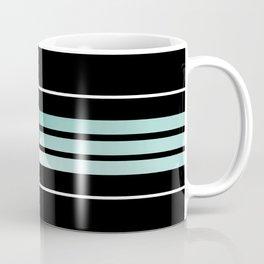 Team Colors 5....teal, black and white Coffee Mug