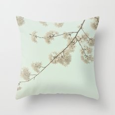 Brush the Sky Throw Pillow