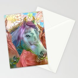 Fairy Horses Stationery Cards