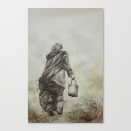 Work and Solitude Canvas Print