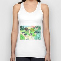 psychedelic Tank Tops featuring Psychedelic by Risahhh