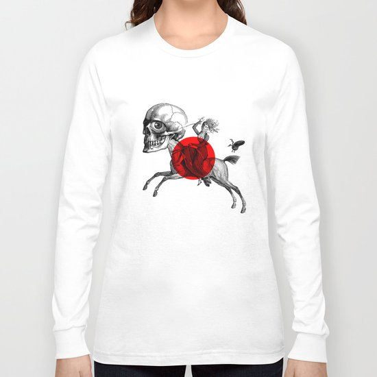 Love is a mad horse Long Sleeve T-shirt