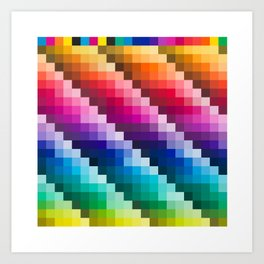 Color Palette Art Print