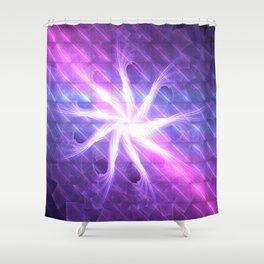 Flower of 9 Celestial Rains Shower Curtain