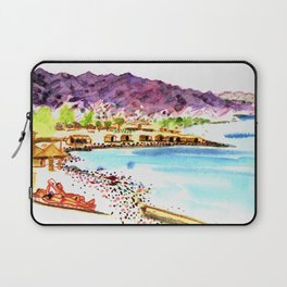 Nuweiba beach life Sinai Laptop Sleeve