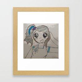 Bop Girl Framed Art Print