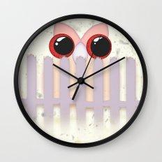 OWL #3 Wall Clock