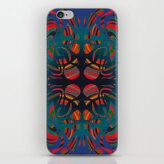 Stone spirals iPhone & iPod Skin