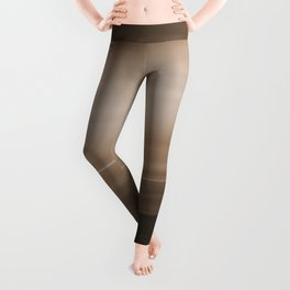 Sepia Brown Ombre Leggings